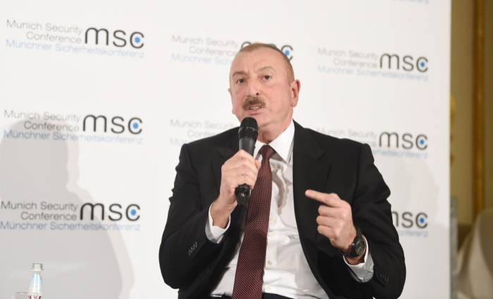 Meeting between Azerbaijani president and Armenian PM held in Munich - VIDEO