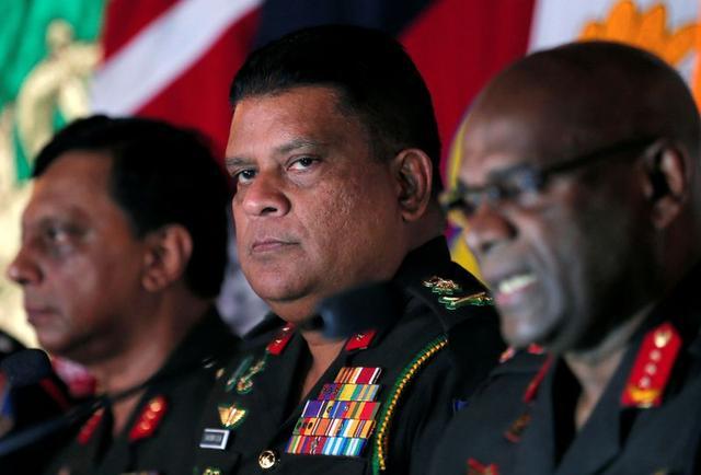 U.S. bans Sri Lankan army chief from entry, citing civil warabuses