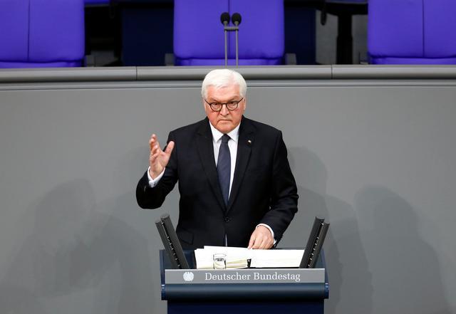 U.S., China, Russia making world more dangerous: Germanpresident