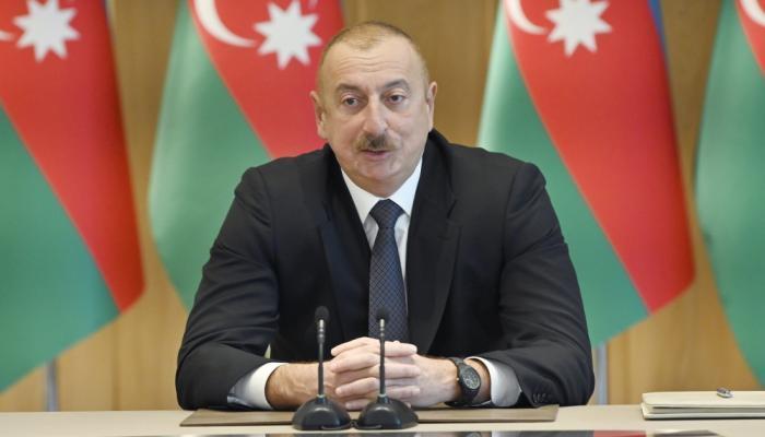 """""""Necesitamos resolver el conflicto por etapas""""-  Ilham Aliyev"""
