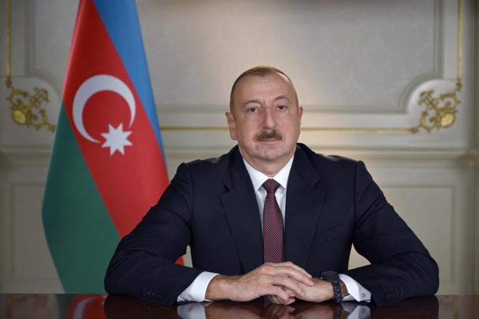 Azerbaijani president congratulates Lithuanian counterpart