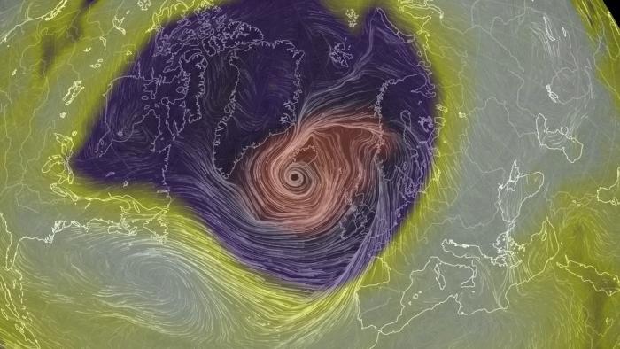 Dos ciclones bomba podrían fusionarse en una de las tormentas más fuertes jamás vistas en el Atlántico Norte