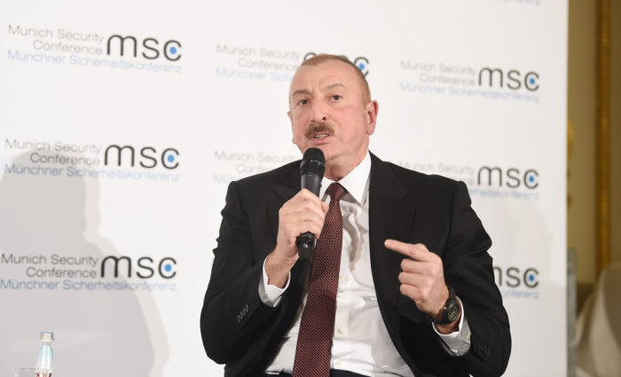 Read the fulltranscript of panel discussions on Nagorno-Karabakh in Munich -VIDEO