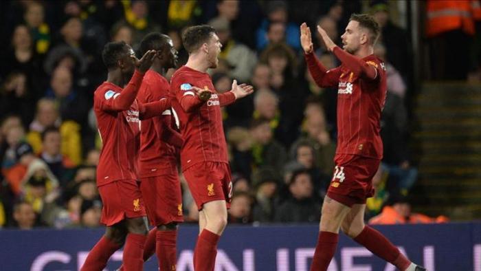 Foot / Premier League:   Liverpool enchaîne une 17ème victoire d'affilée