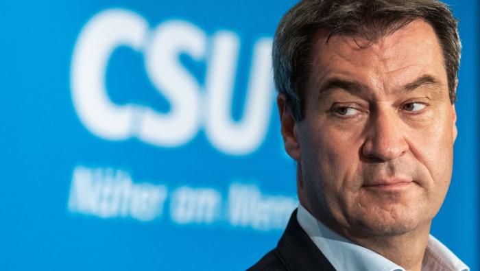 CSU-Chef Söder erwägt schwarz-grüne Koalition