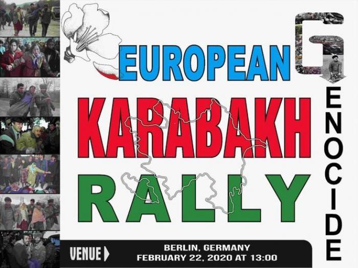 Un Rassemblement massif pour le Karabakh se tiendra à Berlin