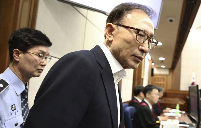 Ex-South Korean president jailed for 17 years