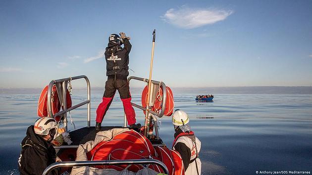 Ocean Viking rettet 182 Menschen
