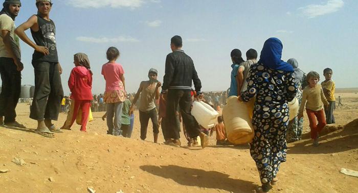 Lawrow:   USA wollen Situation im Flüchtlingscamp Rukban beibehalten