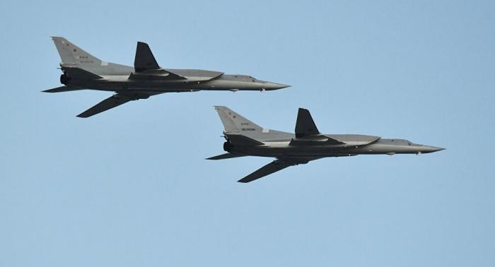 Zwei russische Tu-22-Fernbomber flogen Patrouilleneinsatz über Schwarzem Meer