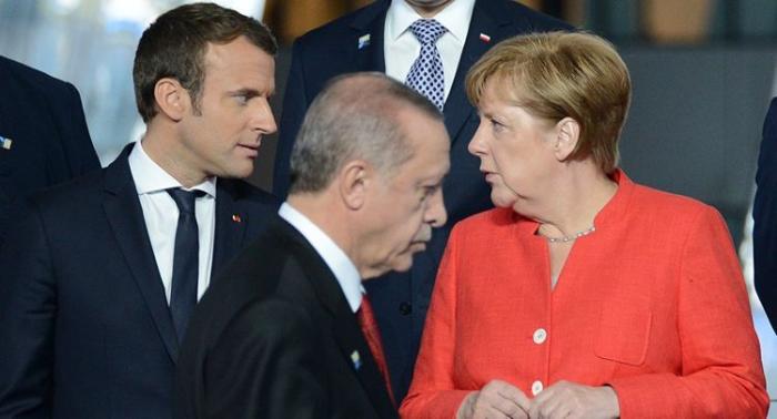 Ərdoğan, Merkel və Makron İdlibi müzakirə etdi