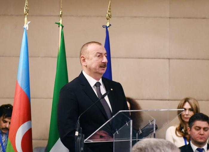 Romada Azərbaycan-İtaliya biznes forumu keçirilib - FOTOLAR (YENİLƏNİB)