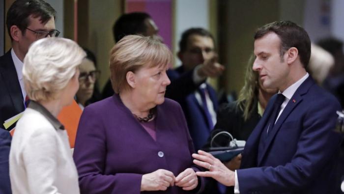 Merkel und Macron fordern sofortiges Ende der Kampfhandlungen in Idlib