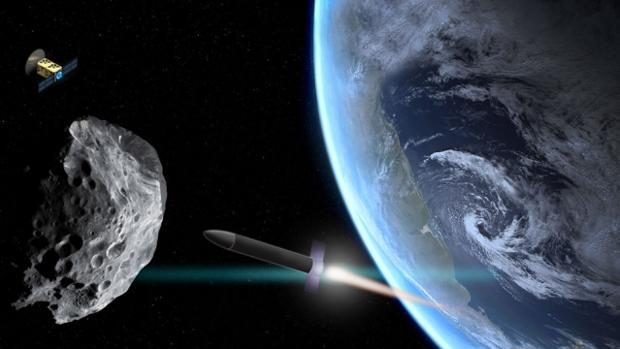 Científicos crean un plan para evitar un catastrófico choque de un asteroide contra la Tierra
