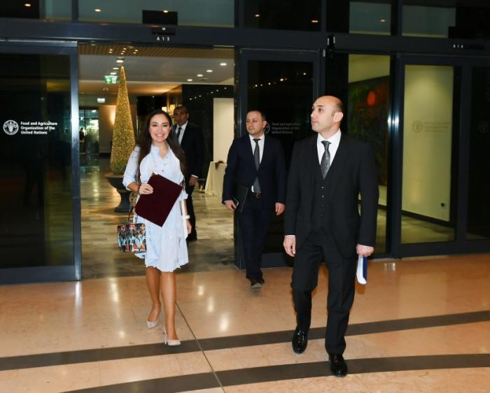 Leyla Əliyeva FAO-nun yeni baş direktoru ilə görüşdü - FOTO