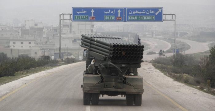 La autovía que acerca a El Asad a la victoria final en Siria