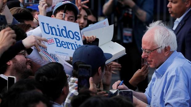 Sanders busca consolidarse como favorito en Nevada