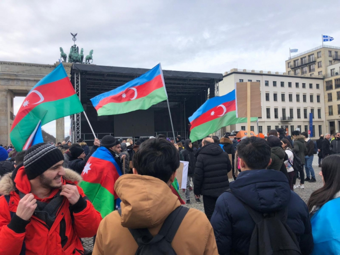 EU-wide Karabakh rally held in Berlin - VIDEO, PHOTOS
