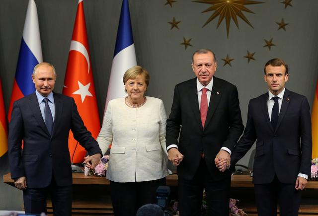 Erdogan says to meet Putin, Merkel, Macron on March 5 over Idlib