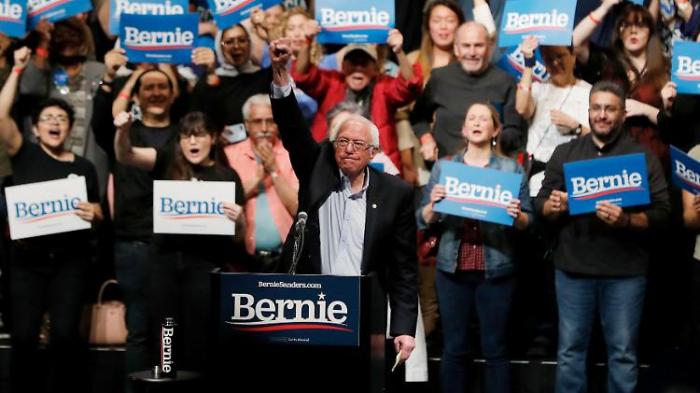 Linker Sanders gewinnt Vorwahlen in Nevada