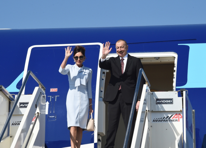 El Presidente Ilham Aliyev completa la visita oficial a Italia - FOTOS