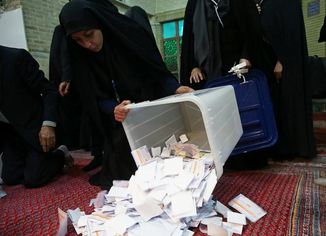 Iran says turnout in parliamentary election was 42%:TV