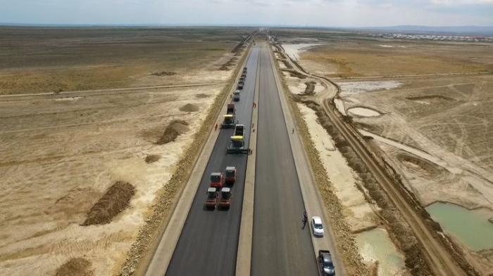 Bakı-Rusiya yolunun ilk hissəsi yayda hazır olacaq
