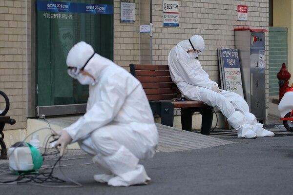 Coronavirus pone en alerta a Irán, Corea del Sur e Italia
