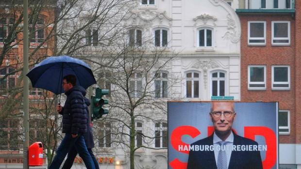 Histórica derrota de la CDU de Merkel en Hamburgo