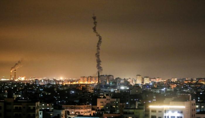Israel fliegt nach Raketenbeschuss Angriffe auf Ziele im Gazastreifen