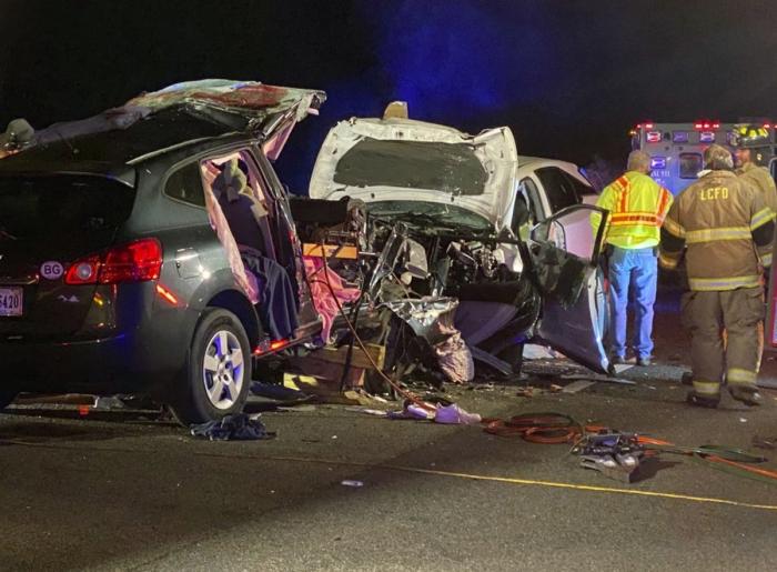 Mueren seis personas en accidente de tránsito en carretera interestatal de Georgia