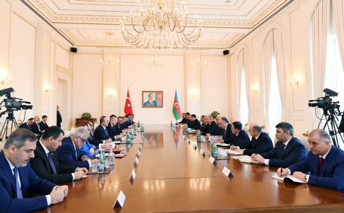 El Consejo de Cooperación Estratégica de Alto Nivel Azerbaiyán-Turquía celebra su VIII reunión en Bakú