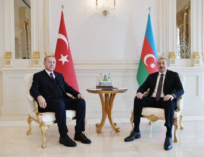 Ilham Aliyev y Erdogan se reunieron uno a uno-  FOTOS (ACTUALIZADO)