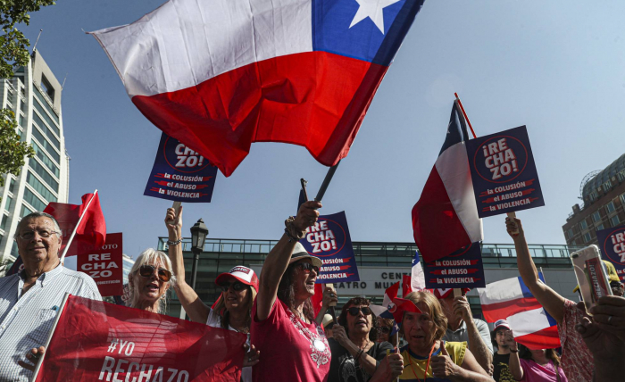 Chile se lanza a la carrera por el referéndum constitucional