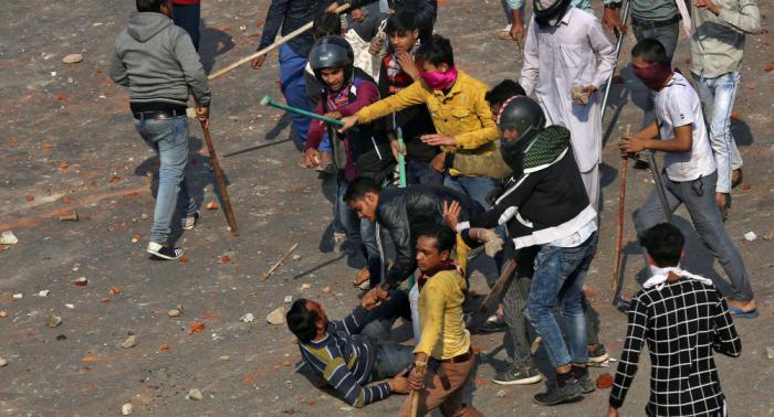Asciende a 18 la cifra de muertos en los disturbios en Nueva Delhi