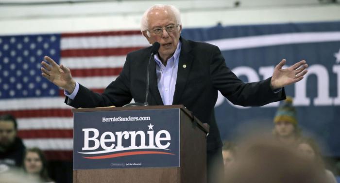 Sanders promete acabar con la supuesta injerencia rusa en las elecciones de EEUU