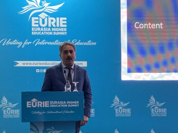 Delegación de BHOS participa en la Cumbre de Educación Superior Euroasiática