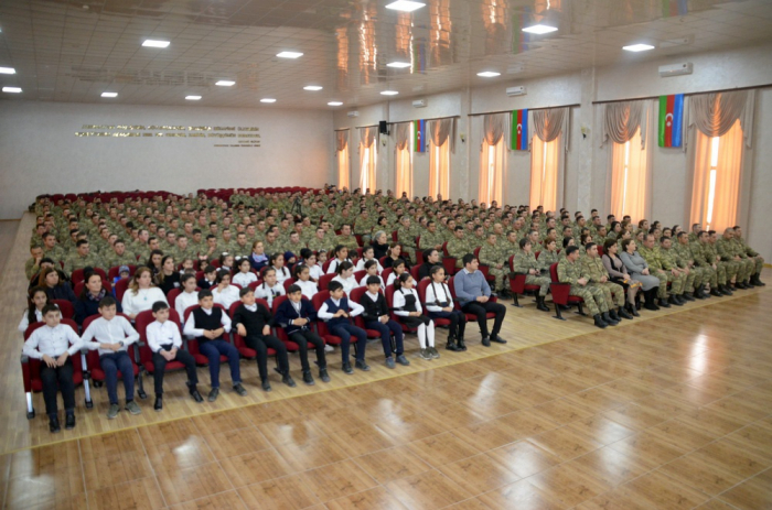 Azerbaijani army holds series of events to commemorate Khojaly genocide victims
