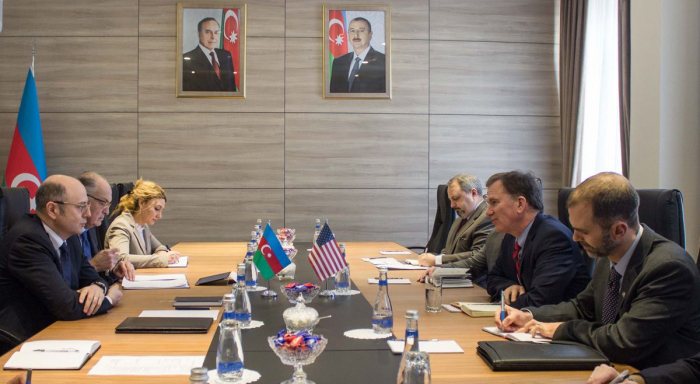 Azerbaijani minister, US deputy secretary mull ensuring energy security