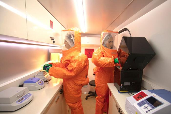 Azerbaijan deploys special laboratories to combat COVID-19 -  PHOTO