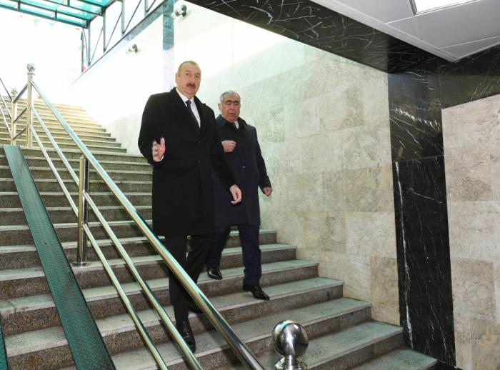 Presidente asiste a la apertura del paso peatonal subterráneo