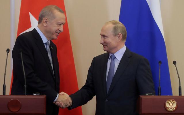 Putin, Erdogan agree new measures needed to ease Syria tensions: Kremlin
