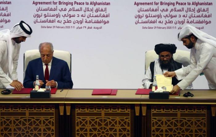 """ABŞ və """"Taliban"""" sülh sazişi imzaladı"""