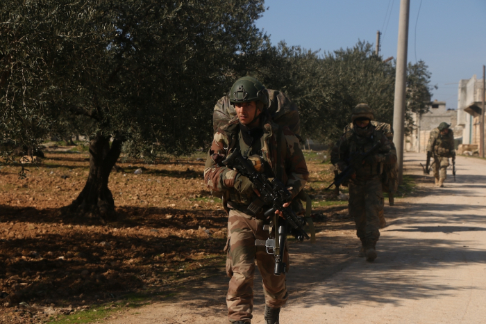One Turkish soldier killed, two wounded in Syria