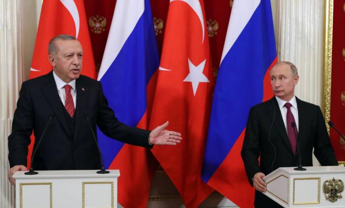 Putin y Erdogan expresan preocupación por la situación en Idlib