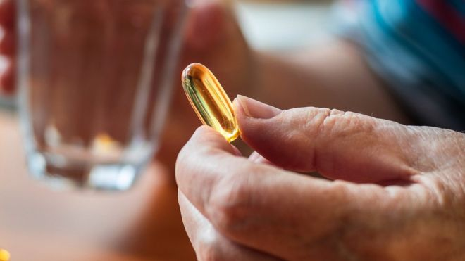 Fish oil supplements offer
