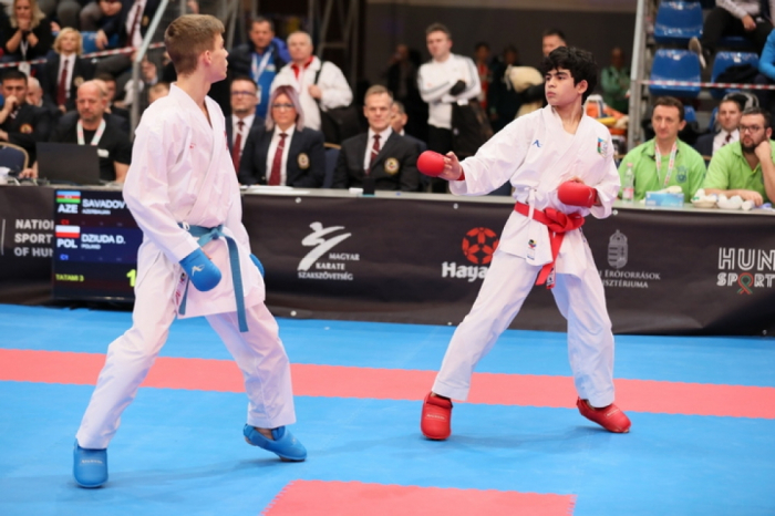 Junior Azerbaijani karate fighter crowned European champion