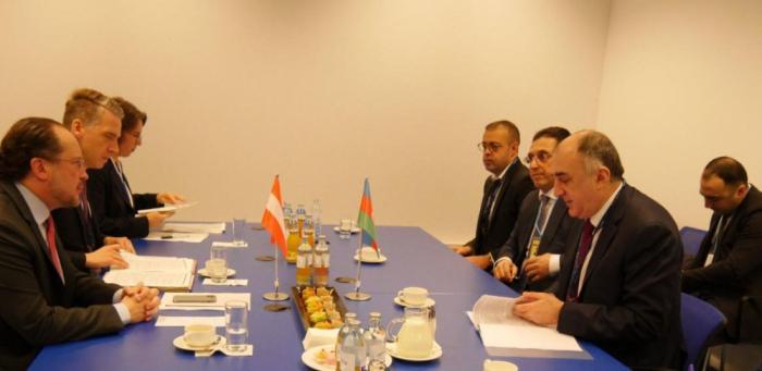 Azerbaijan, Austria discuss various aspects of cooperation