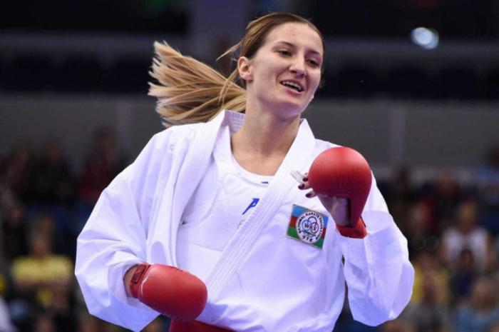 Azerbaijani female fighter grabs bronze at Karate 1 Premier League in Dubai