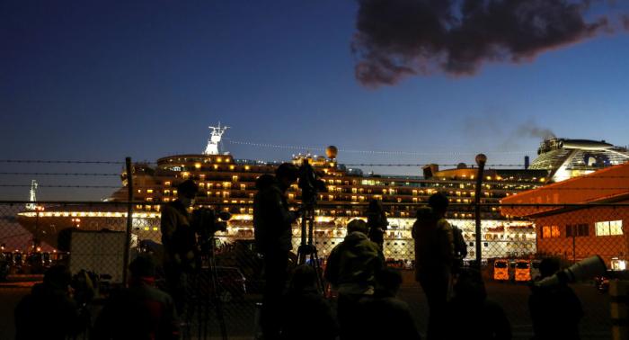 """اليابان تعلن وفاة أول حالتين مصابتين بفيروس كورونا من ركاب السفينة """"دايموند برنسيس"""""""